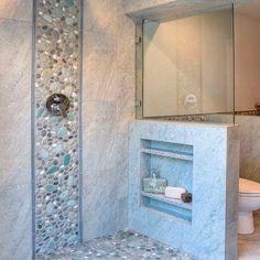 Duvarlarınızı Güzelleştirecek Niş Modelleri-50 Adet   Evde Mimar Bathroom Colors, Small Bathroom, Master Bathroom, Bathroom Ideas, Shower Ideas, Bathroom Mirrors, Master Baths, Master Shower, Glass Bathroom