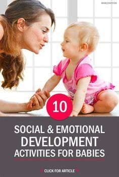 Social / emotional development The article 10 Social/Emotional Activities stresses that it is never too early to talk to your baby because they begin taking in language before birth. Making eye-contact, speaking and using proper words, being consistent wh Social Emotional Activities, Emotions Activities, Social Emotional Development, Child Development Activities, Toddler Development, Infant Activities, Baby Lernen, Expressions, Baby Kind
