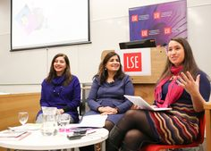 Writers from The Whole Kahani, a collective of British fiction writers of South Asian origin talking at a LSE Literary Festival workshop and creative writing session entitled Writing Short Stories and Poetry: From Laptop to Bookshop held in the Alumni The