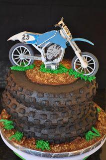 Gracie Cakes: Motocross Cake