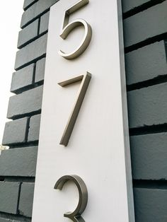 Image result for house numbers nz