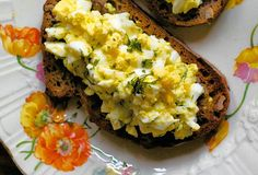 healthy egg salad recipe. let's do it!