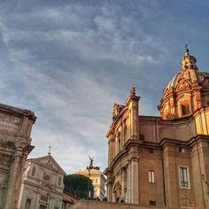 Encantos do Fórum Romano #piacereitalia  #Roma #forumromanum #italia #travel