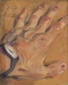 Johannes Grützke, Hand, 2002