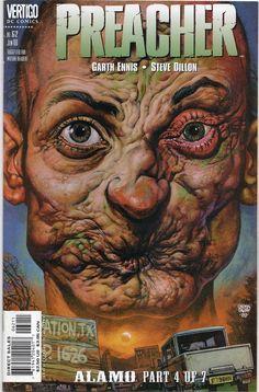Preacher #62 / Arseface / 1st Print 1995 / Vertigo comics / AMC T.V show / Selling Now!!!