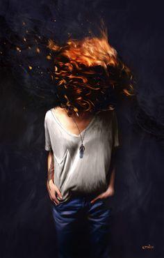 FIRE • 2014 by Martin Grohs, via Behance