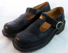 DOCTOR Dr. Doc MARTENS ~ Black Mary Janes ~ US Size 7.5 M #DrMartens #MaryJanes