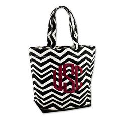 South Carolina Gamecocks Chevron Tote #gamecocks