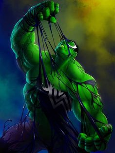 Hulk VS Venom / PLEASE MAKE A COMIC SERIES ON VENOM TAKING OVER OTHER HEROES N NOT JUST SPIDEY!.... PLEASE!!!
