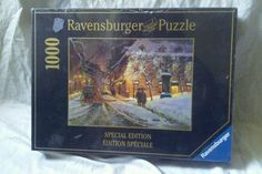 Ravensburger 1000 Piece Winter Charm Of Montreal Special Edition Puzzle  #Ravensburger1000PiecePuzzles #Ravensburger1000PieceChristmasPuzzle