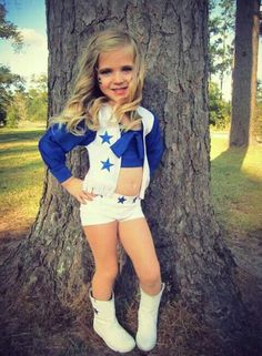 Dallas Cowboys cheerleader!  sc 1 st  Pinterest & All star Cheerleader Costume | Pinterest | Cheerleader costume and ...