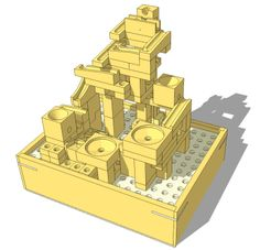 Modular marble machine plans