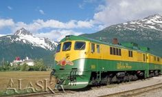 Travel Alaska - Getting Around Alaska by Train. This would be fun if we ever got to visit Crystal