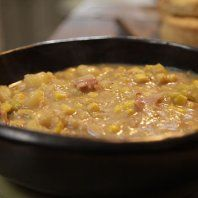 Gordon Ramsay - Smoky bacon, sweetcorn and potato soup recipe