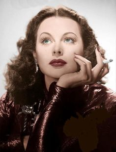 Hedy Lamarr There was always something about her eyes. Hollywood could never produce another star like her.
