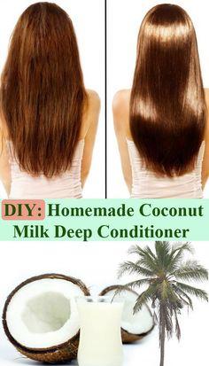 D.I.Y Deep Conditioner Recipe: Banana/ Coconut Milk/ Coconut Oil & Honey