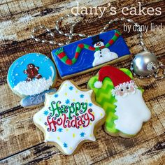 Happy Holidays by Dany's Cakes | Cookie Connection