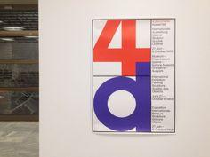 "thebirthdays: ""Documenta 4 / Kassel 1968 — poster design by Karl Oskar Blase. Glad to see that at Goethe Institute of Athens. """