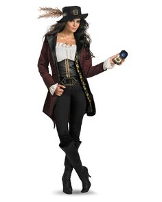 Prestige Pirates of the Caribbean Angelica Costume