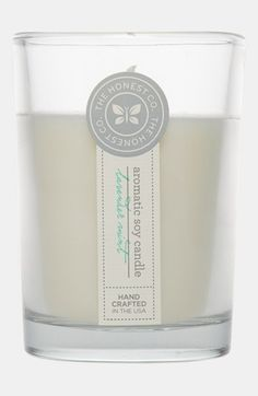 The Honest Company 'Lavender Mint' Aromatic Soy Candle