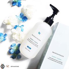 Get Fresh-Faced for the weekend with our favorite cleanser!  #Reposting @skinceuticals -- Simply Clean is ideal for normal or combination #skin. This gel cleanser combines an exfoliating hydroxy acid blend with botanical extracts to help smooth out rough texture while gently removing impurities excess oils and even makeup!