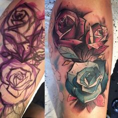wombletattoos:  Bit of this yesterday By Womble (me), Skin...