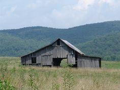 Back side of barn @ Haston Farm