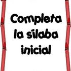 Syllables  are necessary for practicing fluency. Students can practice reading the  silabas iniciales  with this activity. Great for literacy stati...