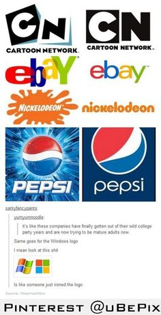 Why did you change but I like the new nickelodeon and eBay