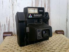 Retro Kodamatic instant camera...
