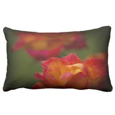 Rosey Pillow from Florals by Fred #zazzle #gift #photogift