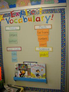 Primary Possibilities: classroom theme