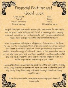 Witch's Lucky Candle Spell, Book of Shadows Spell Page, Wicca, Witchcraft, Pagan Wiccan Books, Wiccan Spell Book, Wicca Witchcraft, Magick Spells, Witch Spell, Spell Books, Hoodoo Spells, Candle Spells, Wiccan Rituals