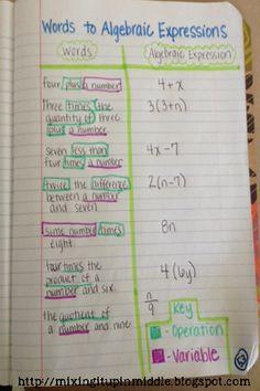 13 Best Translating Algebraic Expressions Ideas Algebraic Expressions Translating Algebraic Expressions Math Expressions