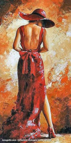 Emerico Toth Lady in red 39 print for sale. Shop for Emerico Toth Lady in red 39 painting and frame at discount price, ships in 24 hours. Woman Painting, Painting & Drawing, Art Rouge, Painted Ladies, Red Art, Black Art, Abstract Painters, Beautiful Paintings, Painting Inspiration