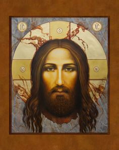 Face of Christ done for Epiphany Catholic Church.