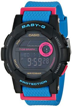 Women's Wrist Watches - Casio BabyG Digital Dial Resin Quartz Ladies Watch BGD1802 *** Click image for more details. (This is an Amazon affiliate link)