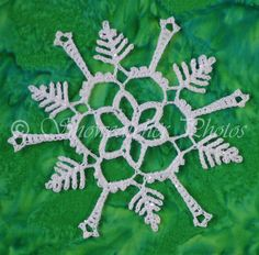 A Snowflake for Marikamum - written directions on site.