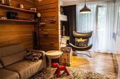 Appartement à Moscou avec un Imola en cuir