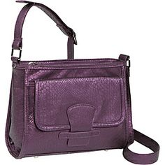 Soapbox Bags Katie Cross Body - Purple Croc - via eBags.com!