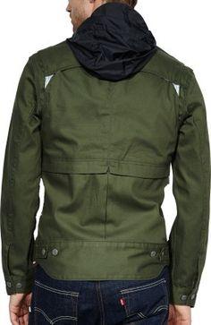 Levi's Commuter Series Hooded Trucker Jacket - Men's