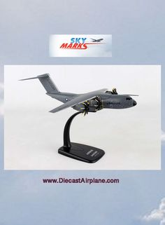Airbus A400M House Colors (1:200) Item #: SKRLM38   #warbird #aviation #Airplanes #plane #avgeek #flying #diecastairplane #jetliner #diecastairplaneshop #InFlight