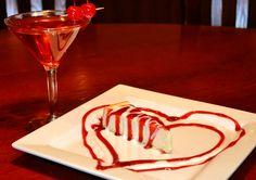 Valentine's Cheesecake from Remington Park's Bricktown Brewery