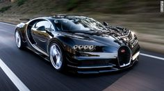"Bugatti unveiled the ""Chiron,"" a new high-performance supercar at the Geneva Motor Show on Monday."