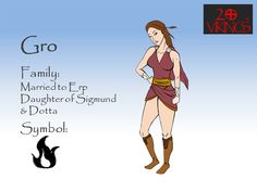 This is Gro from the Viking Clan of the Comic Books (Graphic Novels)  20Vikings.