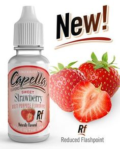 Capella Flavor Drops Sweet Strawberry Concentrate for sale online Flavor Drops, Diy E Liquid, Low Calorie Drinks, Shake Diet, Good Manufacturing Practice, Bottle Sizes, Vegan Friendly, Stevia, Gourmet Recipes