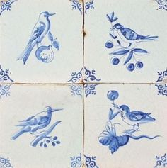 The Best Antique 4 X Dutch Delft Tiles Figures Decorative Arts Ceramics & Porcelain Dog Candelabrum Circa 1625-1650 Highly Polished
