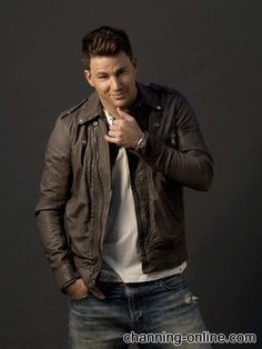 Channing-somebody hand me a tissue so that I can wipe the drool from my lips!!