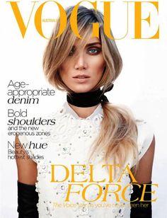 Remember Delta Goodrem? Well she's killing it on the cover of Australian Vogue