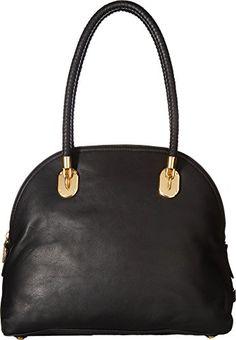 de18810cb1f6 Cole Haan Women s Benson II Dome Satchel Black Handbag     To view further  for